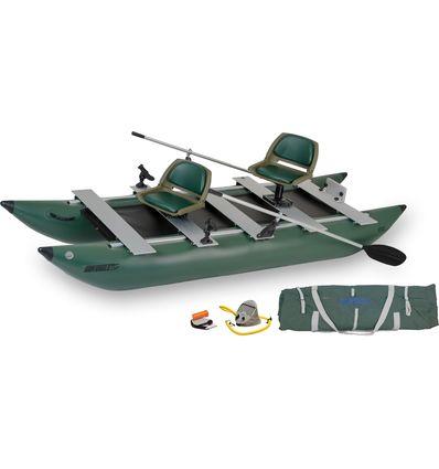 釣り, ゴムボート FoldCat™ 375fc ポンツーンボート (1579) 釣りボート ・ FoldCat™ フィッシングボート